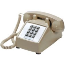 ITT 250044VBA20M Pushbutton Desk Telephone
