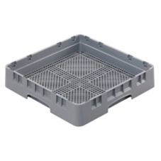 Cambro® FR258151 Camrack® Soft Gray Full Size Flatware Rack
