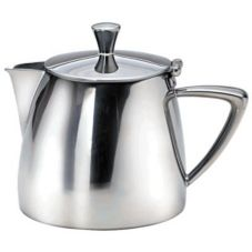 Oneida® 88104821A Stiletto S/S 17 Oz Short Spout Teapot