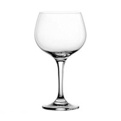 Nadine Round Burgundy Glass, 20.5 oz