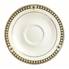 Syracuse® 911191012 Baroque Bone China 6 Inch Tea Saucer - 36 / CS