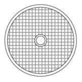 "Hobart 35DICE-9/32 S/S 9/32"" / 7.5MM Dicing Grid"
