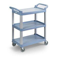 Vollrath® 97004 Gray Multi-Purpose 33 x 16-13/16 x 37 Plastic Cart