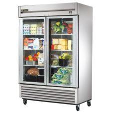 True TS-49G TS-Series 2-Glass Full Door 49 Cu Ft Reach-In Refrigerator