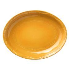"Syracuse 903033001 Cantina® Saffron 13-5/8"" Platter - 6 / CS"