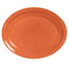 "Syracuse 903034001 Cantina® Cayenne 13-5/8"" Platter - 6 / CS"