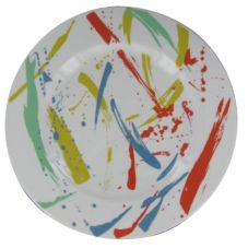 "Syracuse China Brushstrokes 12-1/8"" Plate"