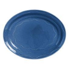 "Syracuse 903032008 Cantina® Blueberry 11.6"" Platter - 12 / CS"