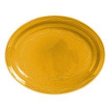 Syracuse 903033008 Cantina® Saffron 11-5/8 Inch Platter - 12 / CS