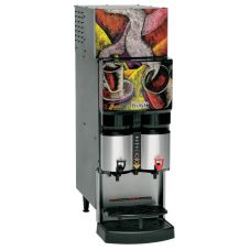 BUNN® Refrigerated Liquid Coffee Dispenser with 2 Dispense Heads