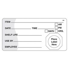 DayMark MoveMark™ 4 x 2 Use By / Shelf Life Label