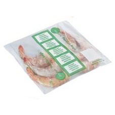 """DayDots 30901-05-41 7"""" x 7"""" Friday Loose Portion Bags - 1000 / BX"""