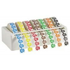 "DayDots 10710-91-11 SupeRemovable 3/4"" USE BY Label Kit Set"