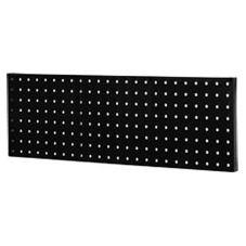 """DayDots 51201-07-00 24"""" x 8"""" Black Plastic Pegboard"""