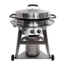 """Evo® 10-0081-LP LP Gas 30"""" Circular Display Cooking Station"""