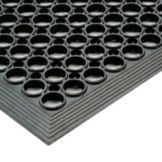 NoTrax® 437-434 Tek-Tough Jr® 3' x 10' Black Floor Mat