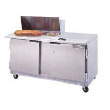 Beverage-Air SPE60-12 Elite Refrigerated Counter with 12 Pan Openings