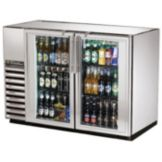 True® TBB-24GAL-48G-S-LD Swing Door Back Bar Cooler for 82 6-Packs
