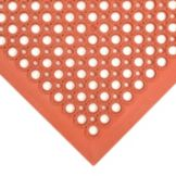 NoTrax® 755-101 Competitor® 3' x 5' Red Floor Mat