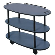 Lakeside® Geneva Oval Dessert Cart w/ Dome Cover