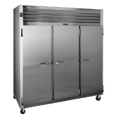 Traulsen G30000 G-Series Solid Door 3-Section Reach-In Refrigerator