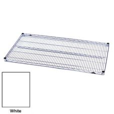 Metro® 1836NW 18 x 36 White Finish Super Erecta Wire Shelf