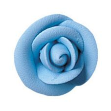 "Lucks™ 1.5"" Medium Party Blue Rose"