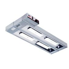"APW Wyott FDDC-42L-R 42"" Double C*Radiant™ 2400W Heat Lamp"