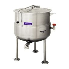 Cleveland Range KDP-40 Direct Steam 40 Gal. Kettle with Pedestal Base