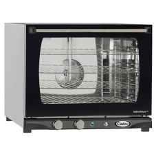 Cadco XAF-133 Half-Size Convection Oven with Humidity