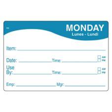 DayMark 1124671 ReMark™ 2 x 3 Monday Day Label - 500 / RL