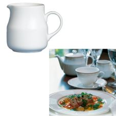 Steelite 42044324 Ronde de les Anges 5-1/2 Oz Creamer - 24 / CS