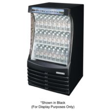 "Beverage-Air 29.75"" White Breeze Open Display Case"
