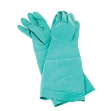San Jamar 19NU-L Pair of Nitrile Large Dishwashing Gloves