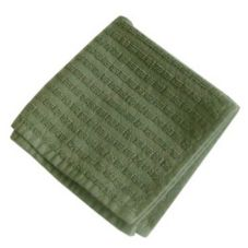 "Solid Terry Cotton Dishcloth, Moss Green, 11-3/4"" x 13-3/4"""