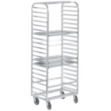 Channel 411A Aluminum Side Loading 20-Bun Pan Rack