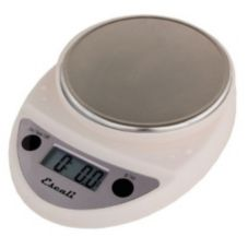 Escali® Primo White 11 lb Portable Digital Scale