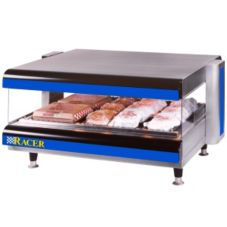 "APW Wyott DMXS-36H 36"" Racer Horizontal Merchandiser with 1 Shelf"