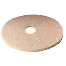 "3M™ 61500045333 Tan 20"" Burnishing Pads - 5 / CS"