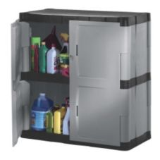 Rubbermaid® FG708500MICHR Two Shelf Storage Cabinet
