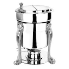 Eastern Tabletop 3107QA-SS 7 Qt. Queen Anne Leg Marmite Soup Chafer