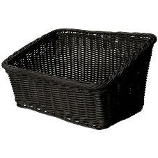 G.E.T. WB-1510-BK Black Cascading Designer PolyWeave Basket ™