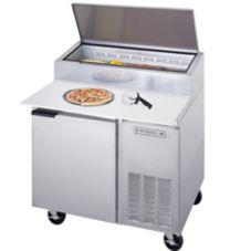 Beverage-Air® DP46 S/S 16.7 Cu Ft Pizza Top Refrigerated Counter