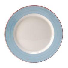 "Steelite 15310343 Rio Blue 13"" Service / Chop Plate - 6 / CS"