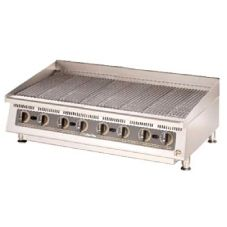 "Star® 8048CBA Ultra-Max™ 48"" Lava Rock Gas Char-Broiler"