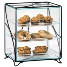 "Cal-Mil® 16"" x 12"" Non Refrigerated Display Case"