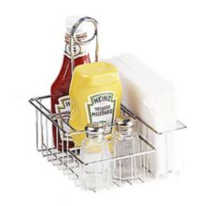 Clipper Mill 4-21696 Napkin / Salt & Pepper/ Condiment Holder