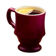 Hall® China 8 Oz. Maroon Executive Stacking Mug