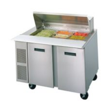 "Randell® 9030K-7 Refrigerated 48"" Long Salad Top Prep Table"