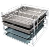 Metro® MBQ-MR-14 Mini Rack For MBQ-200 & 150 Banquet Cabinets